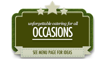 occasion catering scarborough