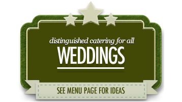 wedding catering scarborough